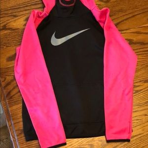Nike youth girls hoodie size large